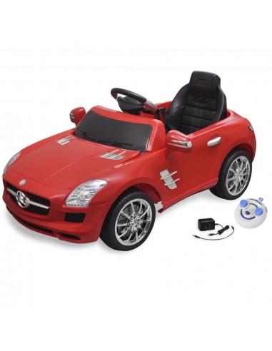 El. automobilis MERCEDES BENZ SLS AMG, raudonas, 6 V, su nuot. pultu | Elektrinės Transporto Priemonės | duodu.lt