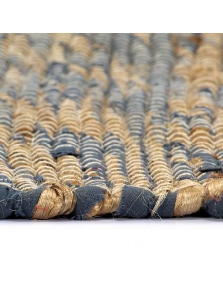 Kilimas, tikros odos, skiaut., 80x150cm, juost., rudas/baltas  | Kilimėliai | duodu.lt