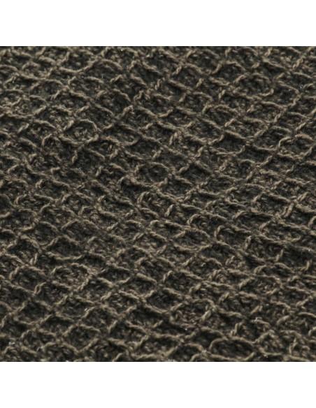 Kilimas, tikros odos, skiaut., 80x150cm, juost., juodas/baltas  | Kilimėliai | duodu.lt