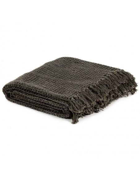 Kilimas, tikros odos, skiaut., 160x230cm, juost., juodas/baltas    Kilimėliai   duodu.lt