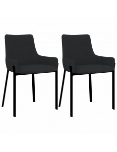 vidaXL Biuro kėdė, antracito spalvos, dirbtinė oda | Ofiso Kėdės | duodu.lt