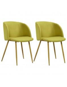 vidaXL Biuro kėdė, rudos spalvos, poliesteris   Ofiso Kėdės   duodu.lt
