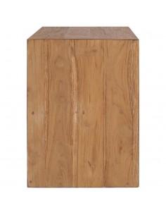 vidaXL Kavos staliukas, 45x45x40 cm, akacijos medienos masyvas | Kavos Staliukai | duodu.lt