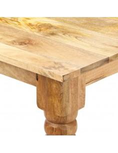 vidaXL Kavos staliukas, 70x70x30cm, perdirbta tikmedž. med. ir betonas | Kavos Staliukai | duodu.lt