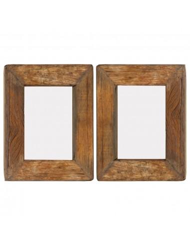 Nuotraukų rėmeliai, 2vnt., 23x28cm, medienos masyvas ir stiklas | Nuotraukų rėmeliai | duodu.lt