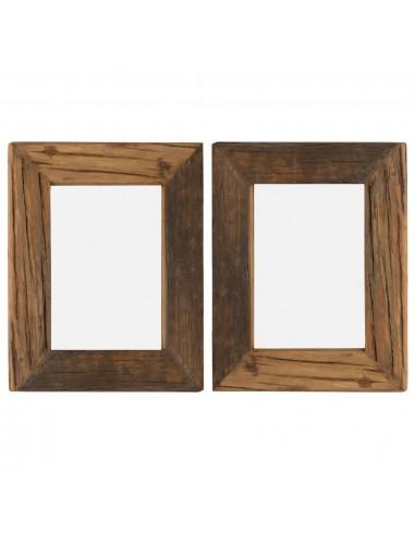 Nuotraukų rėmeliai, 2vnt., 25x30cm, medienos masyvas ir stiklas   Nuotraukų rėmeliai   duodu.lt