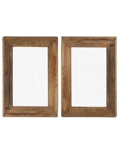 Nuotraukų rėmeliai, 2vnt., 30x40cm, medienos masyvas ir stiklas | Nuotraukų rėmeliai | duodu.lt
