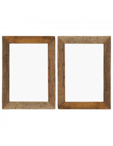Nuotraukų rėmeliai, 2vnt., 40x50cm, medienos masyvas ir stiklas   Nuotraukų rėmeliai   duodu.lt