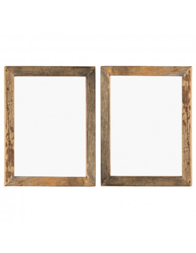 Nuotraukų rėmeliai, 2vnt., 50x60cm, medienos masyvas ir stiklas   Nuotraukų rėmeliai   duodu.lt