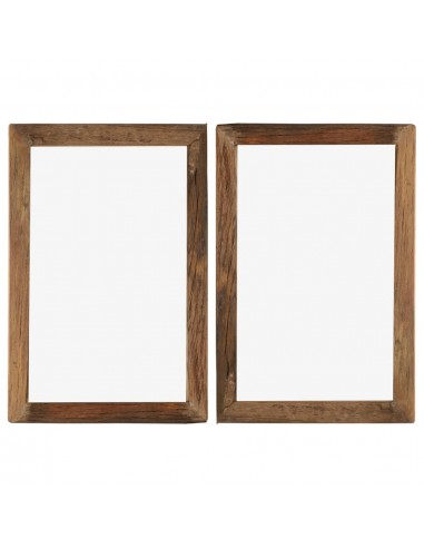 Nuotraukų rėmeliai, 2vnt., 50x70cm, medienos masyvas ir stiklas   Nuotraukų rėmeliai   duodu.lt