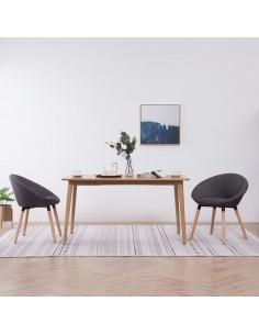 Baro taburetės, 2vnt., dirbtinė oda, baltos | Stalai ir Baro Kėdės | duodu.lt