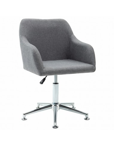 Valgomojo kėdė, šviesiai pilka, audinys, pasukama  | Virtuvės ir Valgomojo Kėdės | duodu.lt