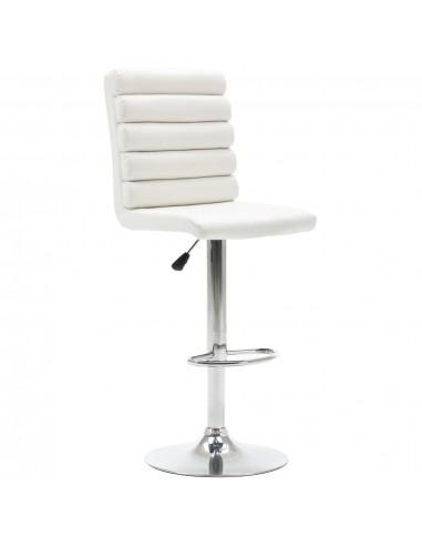 Baro kėdė, baltos spalvos, dirbtinė oda | Stalai ir Baro Kėdės | duodu.lt