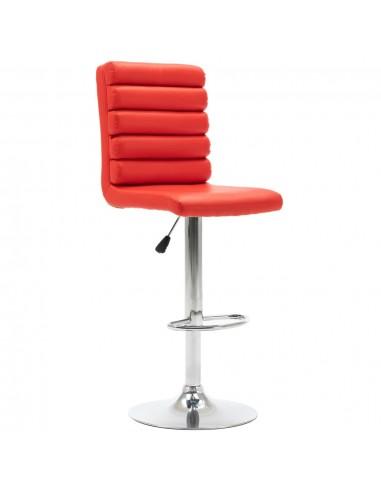 Baro kėdė, raudonos spalvos, dirbtinė oda | Stalai ir Baro Kėdės | duodu.lt