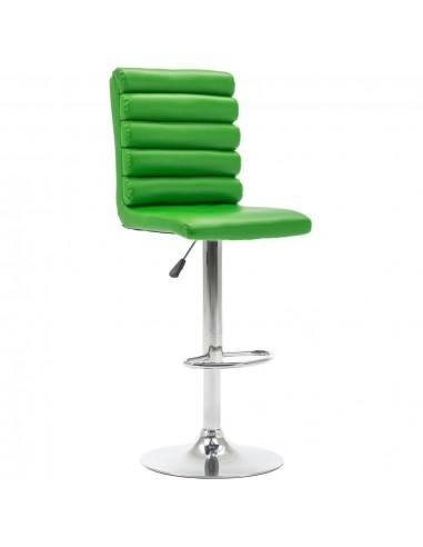 Baro kėdė, žalios spalvos, dirbtinė oda | Stalai ir Baro Kėdės | duodu.lt
