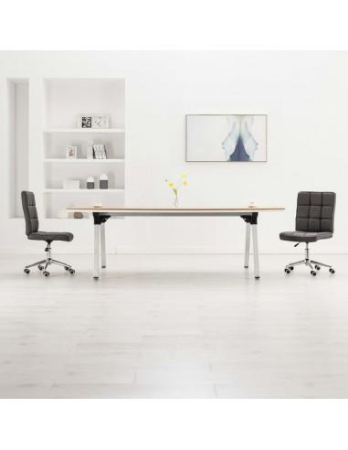 Valgomojo kėdės, 2vnt., tamsiai pilkos spalvos, audinys   Virtuvės ir Valgomojo Kėdės   duodu.lt