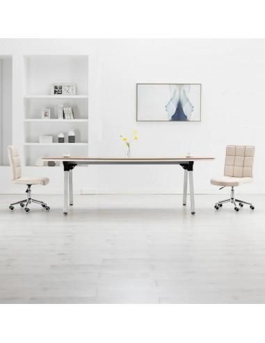 Valgomojo kėdės, 2vnt., kreminės spalvos, audinys   Virtuvės ir Valgomojo Kėdės   duodu.lt
