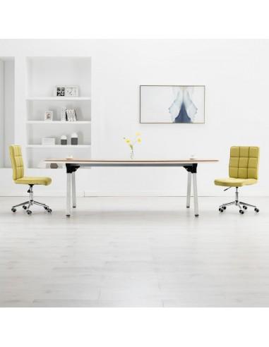 Valgomojo kėdės, 2vnt., žalios spalvos, audinys | Virtuvės ir Valgomojo Kėdės | duodu.lt