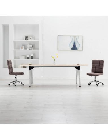 Valgomojo kėdės, 2vnt., taupe spalvos, audinys  | Virtuvės ir Valgomojo Kėdės | duodu.lt