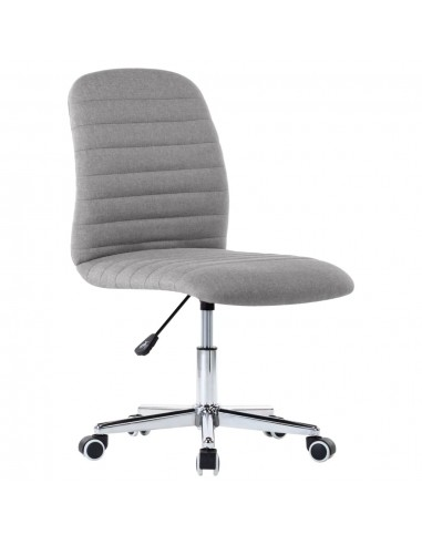 Pasukama biuro kėdė, šviesiai pilkos spalvos, audinys | Ofiso Kėdės | duodu.lt