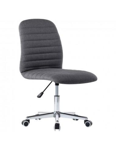 Pasukama biuro kėdė, tamsiai pilkos spalvos, audinys   Ofiso Kėdės   duodu.lt