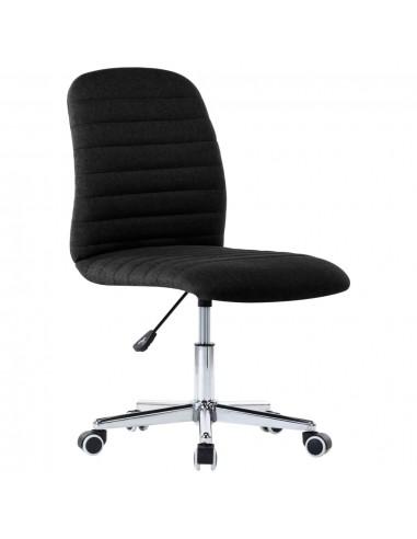 Pasukama biuro kėdė, juodos spalvos, audinys | Ofiso Kėdės | duodu.lt