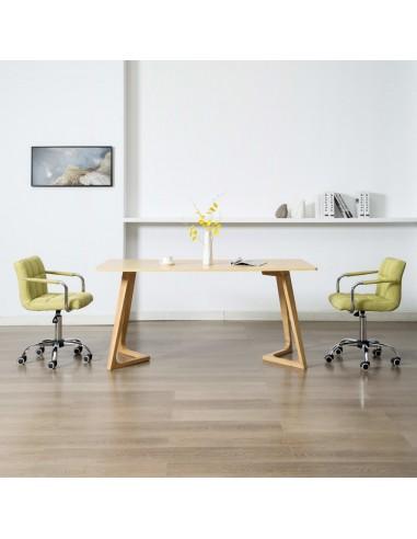 Valgomojo kėdės, 2 vnt., žalios spalvos, audinys, pasukamos   Virtuvės ir Valgomojo Kėdės   duodu.lt