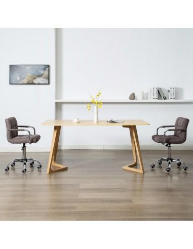 Valgomojo kėdės, 2 vnt., taupe spalvos, audinys, pasukamos | Virtuvės ir Valgomojo Kėdės | duodu.lt