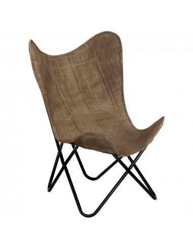 Išskleidžiama kėdė, taupe spalvos, drobė   Foteliai, reglaineriai ir išlankstomi krėslai   duodu.lt