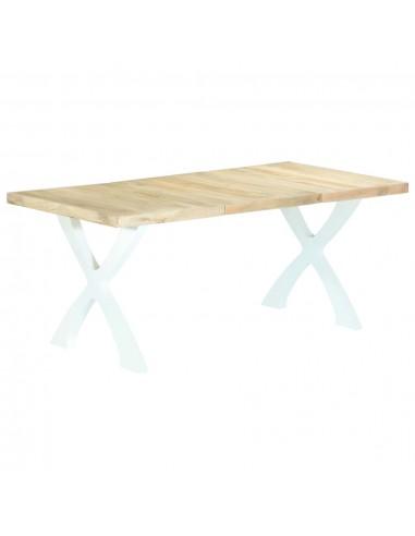 Valgomojo stalas, 180x90x76 cm, mango medienos masyvas   Virtuvės ir Valgomojo Stalai   duodu.lt