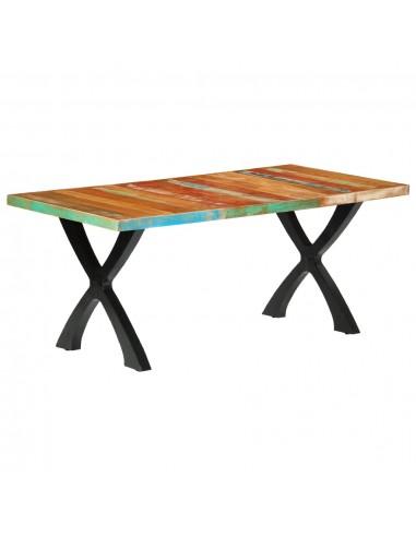 Valgomojo stalas, 180x90x76 cm, perdirbtos medienos masyvas   Virtuvės ir Valgomojo Stalai   duodu.lt