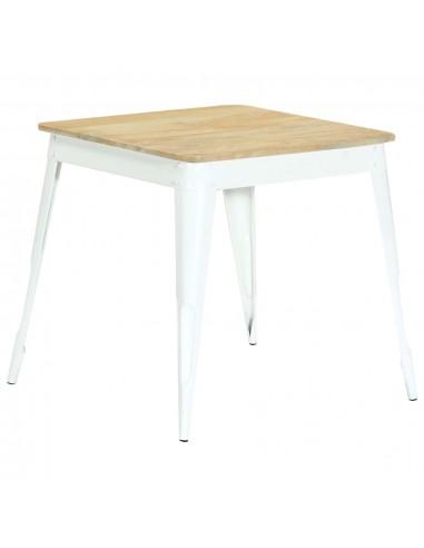 Valgomojo stalas, 75x75x76 cm, mango medienos masyvas   Virtuvės ir Valgomojo Stalai   duodu.lt