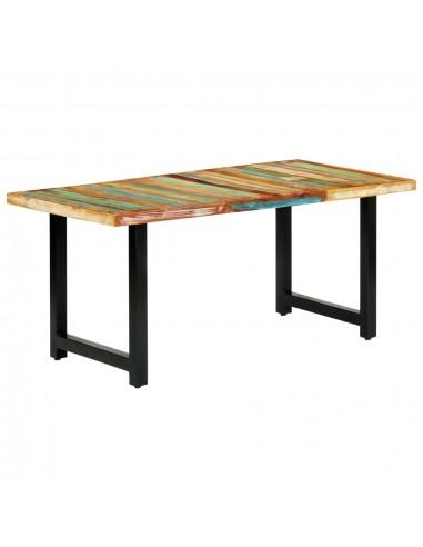Valgomojo stalas, 180x90x76 cm, perdirbtos medienos masyvas | Virtuvės ir Valgomojo Stalai | duodu.lt