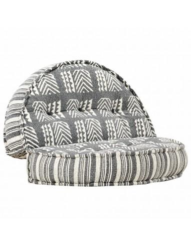Pufas, pilkos spalvos, 100x20cm, audinys, dryžuotas   Kėdžių ir Sofos Pagalvėlės   duodu.lt