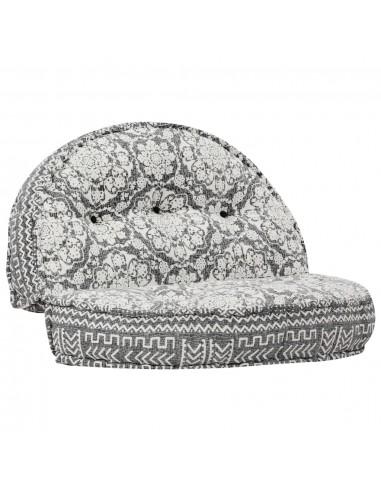 Pufas, šviesiai pilkos spalvos, 100x20cm, audinys | Kėdžių ir Sofos Pagalvėlės | duodu.lt