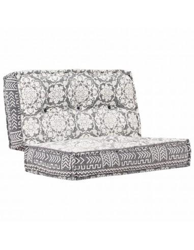 Pufas, šviesiai pilkos spalvos, 100x100x20cm, audinys | Kėdžių ir Sofos Pagalvėlės | duodu.lt