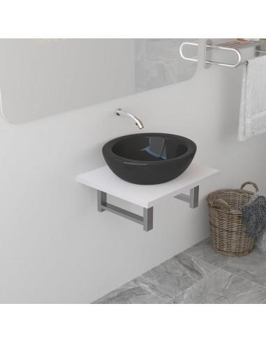 Vonios kambario baldas, baltas, 40x40x16,3cm  | Vonios baldų komplektai | duodu.lt