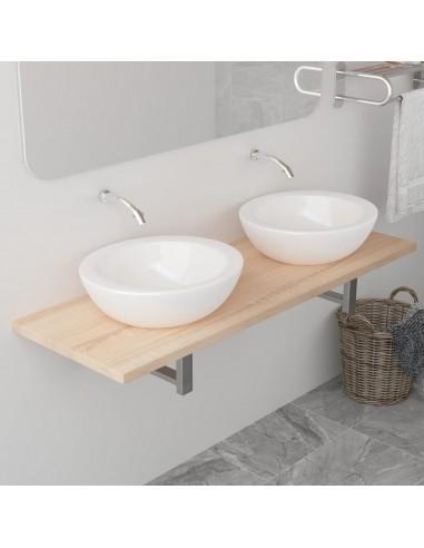 Vonios kambario baldas, ąžuolo, 120x40x16,3cm    Vonios baldų komplektai   duodu.lt