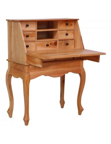 Rašomasis stalas, 78x42x103cm, raudonmedžio medienos masyvas | Rašomieji Stalai | duodu.lt