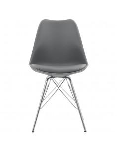 vidaXL Kavos staliukas, 55x55x53cm, betono išvaizdos | Kavos Staliukai | duodu.lt