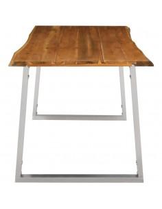 Rašomasis stalas su 2 stal., 110x50x77cm, raus. dalb. med. mas. | Rašomieji Stalai | duodu.lt