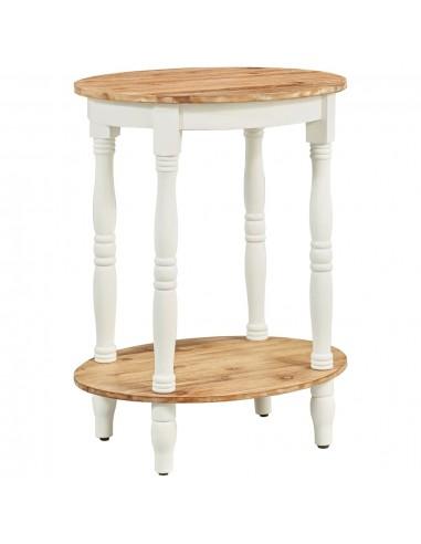 Šoninis staliukas, 50x40x66cm, akacijos medienos masyvas   Naktiniai Staliukai   duodu.lt