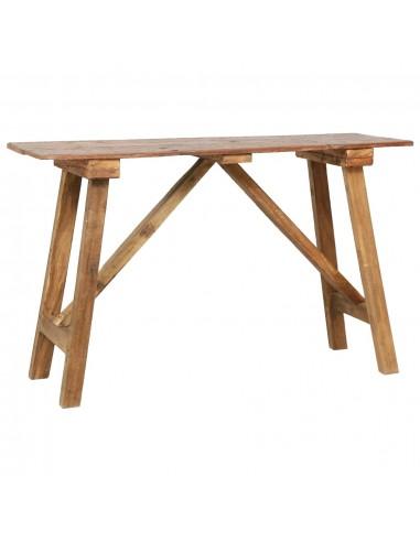 Konsolinis staliukas, 130x40x80cm, perdirbtos medienos masyvas   Žurnaliniai Staliukai   duodu.lt