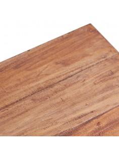 vidaXL Kavos staliukas, 120x60x40 cm, perdirbtos medienos masyvas | Kavos Staliukai | duodu.lt