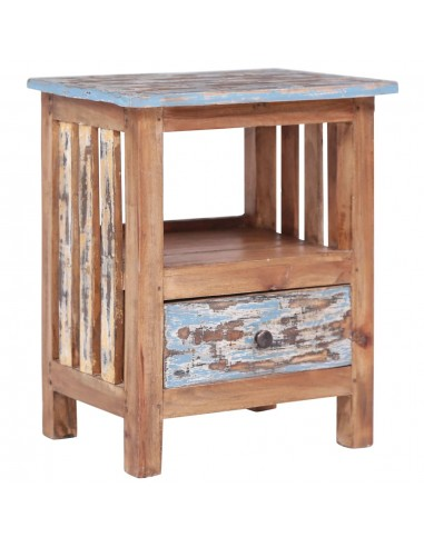 Naktinė spintelė, 41x30x50cm, perdirbtos medienos masyvas   Naktiniai Staliukai   duodu.lt
