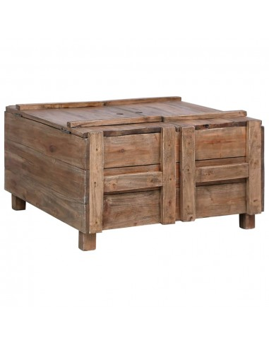 Kavos staliukas, 65x65x38cm, perdirbtos medienos masyvas    Kavos Staliukai   duodu.lt
