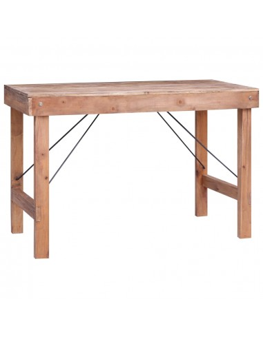 Valgomojo stalas, 120x60x80cm, perdirbtos medienos masyvas   Sulankstomi Staliukai   duodu.lt