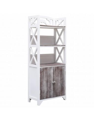 Vonios kamb. spint., balt. ir rud., 46x24x116cm, paulov. med. | Spintos ir biuro spintelės | duodu.lt
