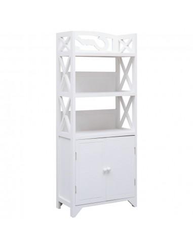 Vonios kambario spintelė, baltos sp., 46x24x116cm, paulov. med.   Spintos ir biuro spintelės   duodu.lt