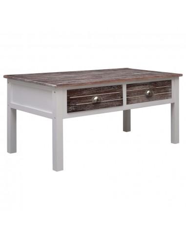 Kavos staliukas, rudos spalvos, 100x50x45 cm, mediena | Kavos Staliukai | duodu.lt